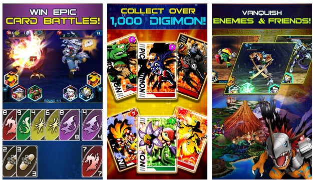 Digimon Heroes Download