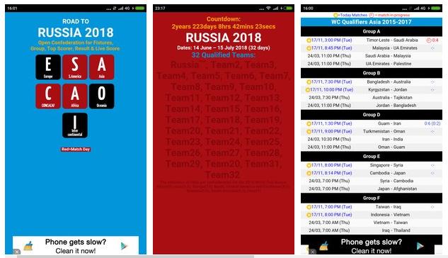 World Cup 2018 APK