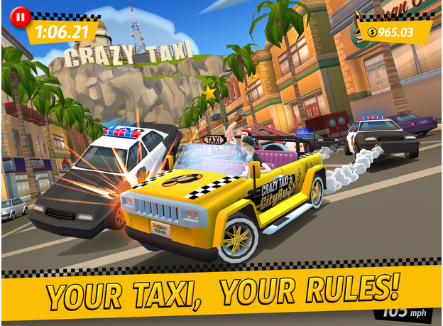 Crazy Taxi™ City Rush APK Download
